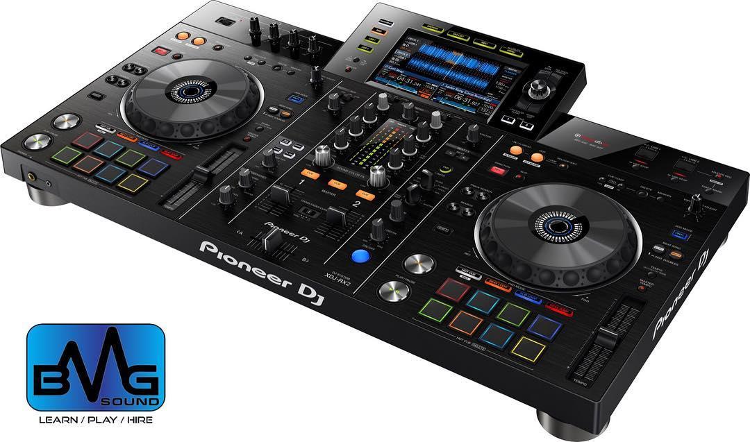 Pioneer XDJ RX2 DJ controller BMG Sound.jpg
